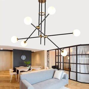 Details About Large Chandelier Lighting Black Pendant Light Kitchen Ceiling Bedroom Lamp