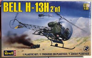 Revell-Bell-H-13H-1-35-FS-NEW-Model-Kit-Sullys-Hobbies
