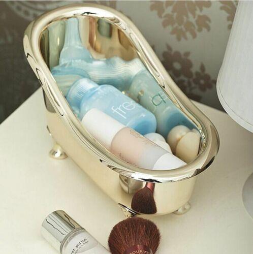 Bathroom Storage Box Mini Bathtub Soap Toothpaste Toothbrush Supplies Organizer