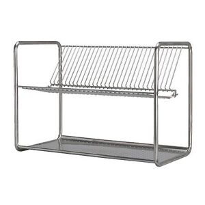 Ikea ordning stainless steel kitchen dish drainer rack - Dish chair ikea ...