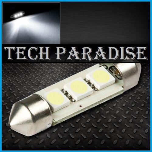 2x Ampoule 36mm C3W C5W C7W C10W LED 3 SMD Blanc White plaque Navette Festoon