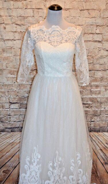 e1a6cab40ed Modcloth Sophisticated Ceremony Dress White 2  200 Chi Chi wedding maxi