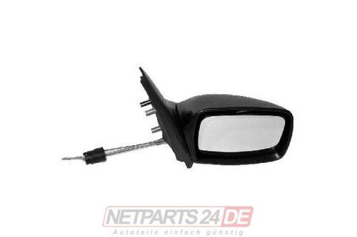 Außenspiegel Seitenspiegel Spiegel rechts manuell Mazda 121 96-01 Neu /& ab Lager