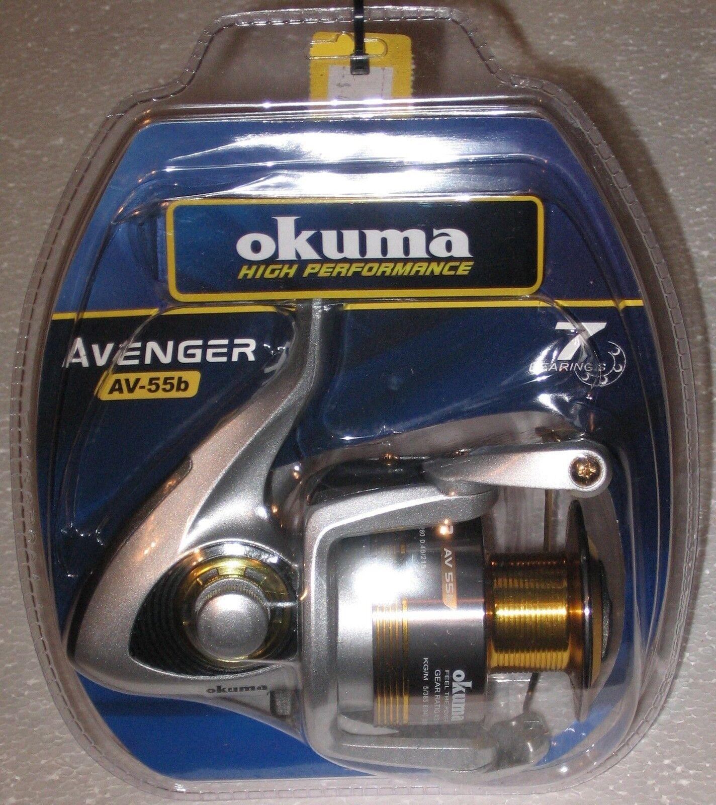 Okuma Avenger AV-55B-CL AV-55B-CL AV-55B-CL Spinning Reel 9620cf