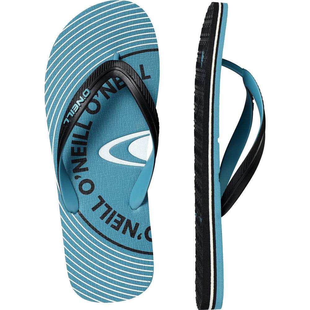 FidèLe O'neill Tongs Sandale Fm Profil Stockage Bleu Clair Unicolore