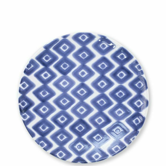 Vietri Santorini Diamond Salad Salad Salad Plate - Set of 12 6b5e4d