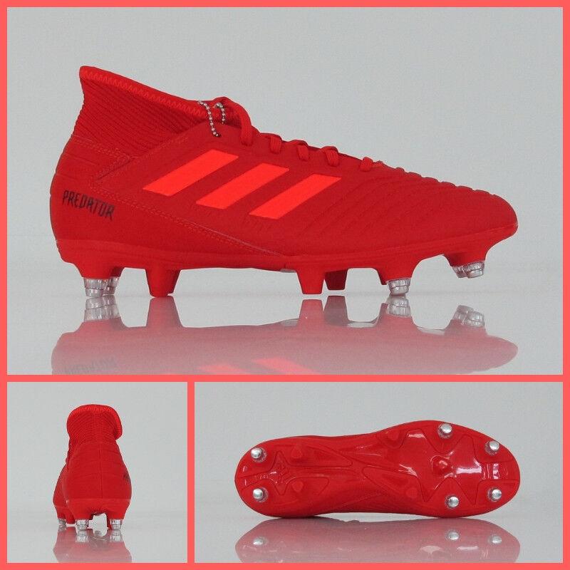 ADIDAS botas fútbol ProjoATOR 19.3 SG D97958 col.rojo diciembre 2018