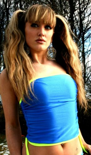 ANY COLOURS Funki-B adjustable side boobtube crop top or cover up custom made