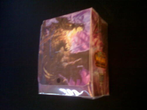 World of Warcraft Twilight of the Dragons Deck box New Sealed WoW