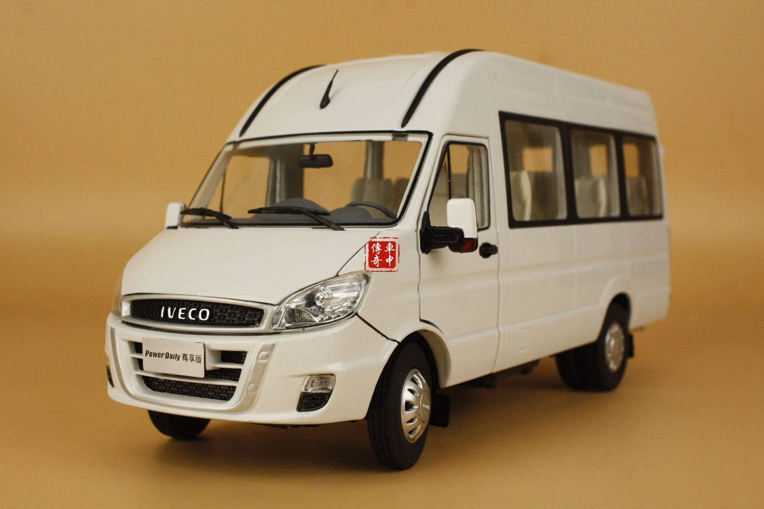 1/24 2015 new IVECO Power Daily diecast model bianca color