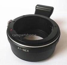 Tripod Nikon F Lens to Sony NEX E Adapter A5000 A6000 A7 A7R NEX 3 5 6 7 5N 5R