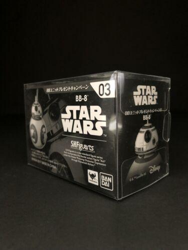 STAR Wars BANDAI S.H Figuarts BB-8 Custodia Protettiva Display TFA