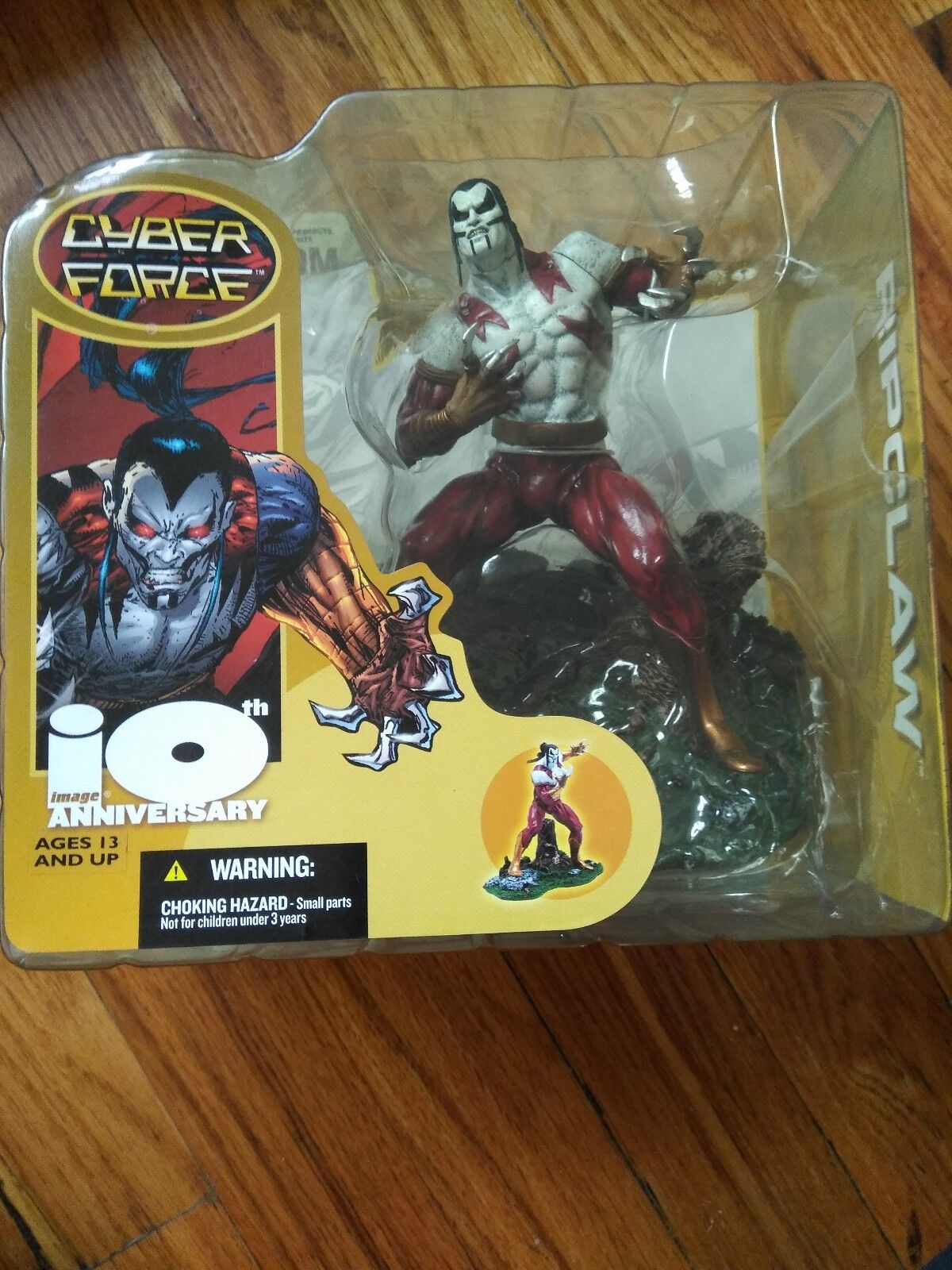 SPAWN 10TH ANNIVERSARY SERIES CYBER FORCE RIPCLAW 6