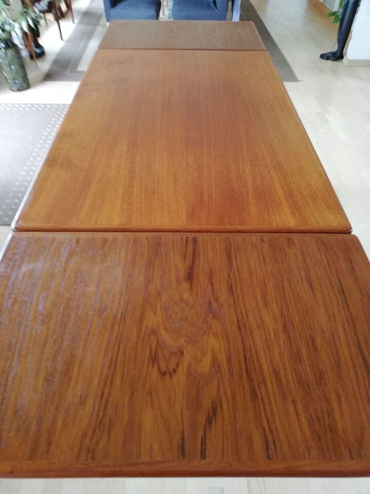 Spisebord, Teaktræ, b: 84 l: 129