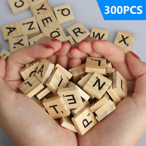 SCRABBLE-WOOD-TILES-400Pieces-Full-Sets-Letters-Wooden-Replacement-Pick