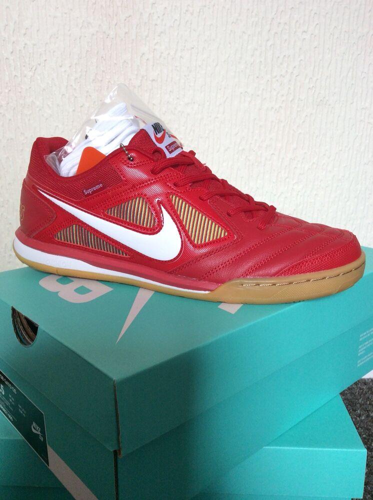 Supreme x Nike SB Gato Rouge Taille UK 8.5-