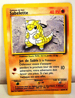 Carte Pokemon RATTATAC 40//102 Set de Base Wizard Edition 1 NEUF VF