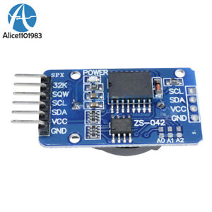 2pcs-Ds3231-At24c32-Iic-Precision-Real-Time-Clock-modulo-de-memoria-modulo-Arduino