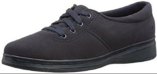 NEW Femme GRASSHOPPERS ASHLAND EH17450 Noir Stretch Casual Sneakers Chaussures