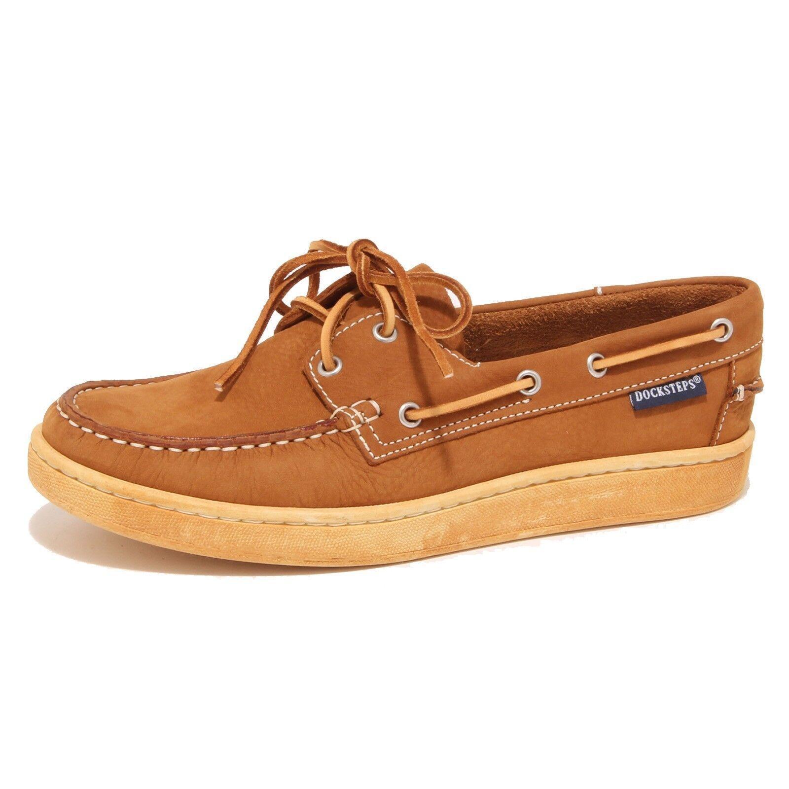9329O mocassino DOCKSTEPS marrone chiaro scarpa uomo shoe men