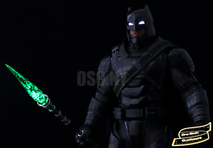 IN STOCK 1//6 Kryptonite Spear LED Light Up USA Batman Superman Justice Toys Hot