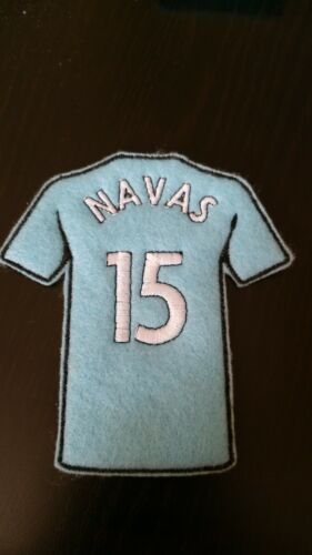 Manchester City Shirt Iron or sew on Embroidered Patch Badge.