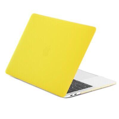 """New Macbook Pro 13/""""A2159 A1706 1708 A1989 Yellow Matte Hard Case 2016-2019"""