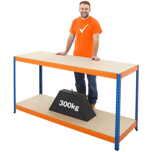 Werkbank300 kg pro FachbodenHxBxT 90 x 180 x 60 cm Werkbank Werktisch