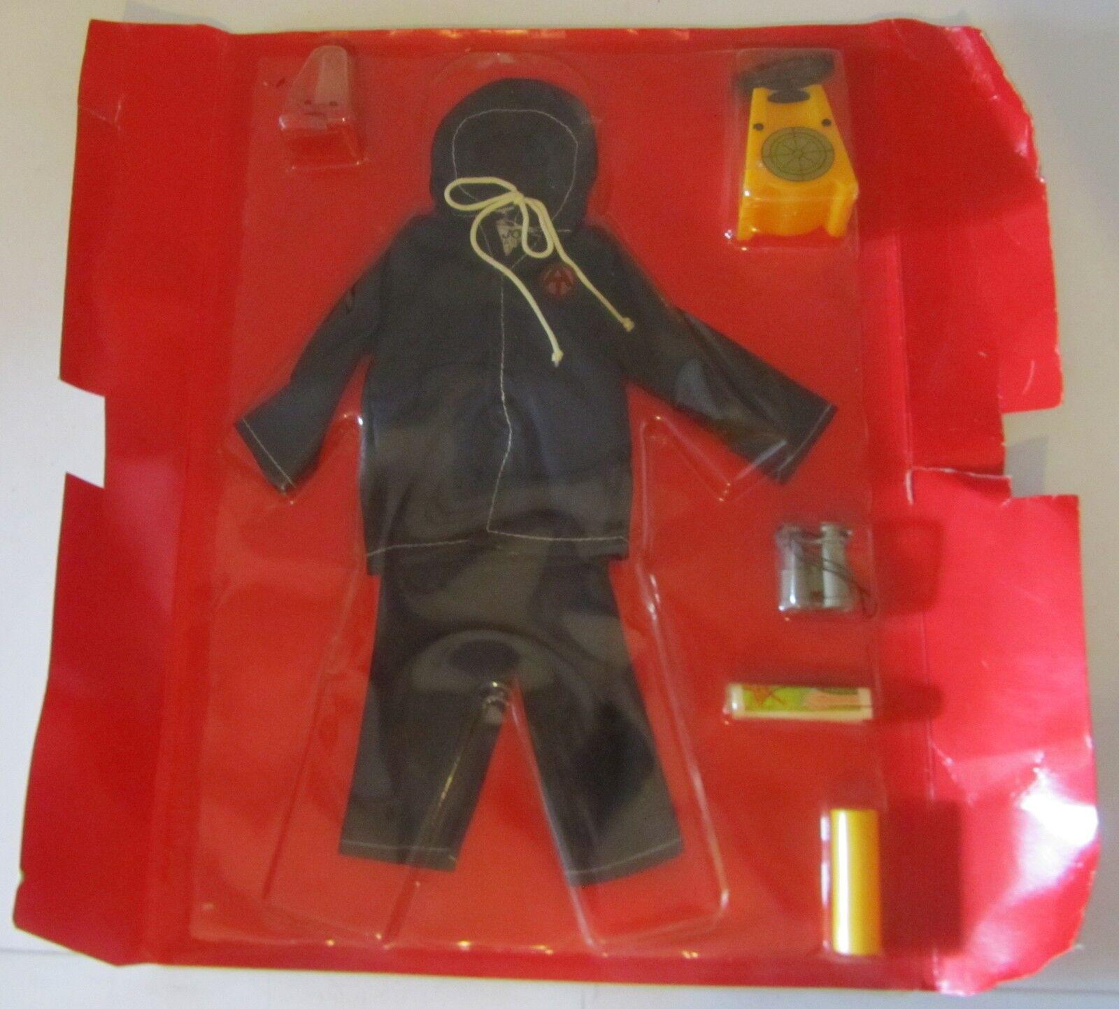 GI Joe Radiation Detection Acción Team Polistil G I Vintage Hasbro outfit