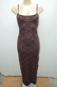 ETAM-ROBE-DRESS-MARRON-36-T36-S