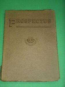 1922-PROSPECTUS-CENTRAL-HIGH-SCHOOL-YEARBOOK-FLINT-MICHIGAN