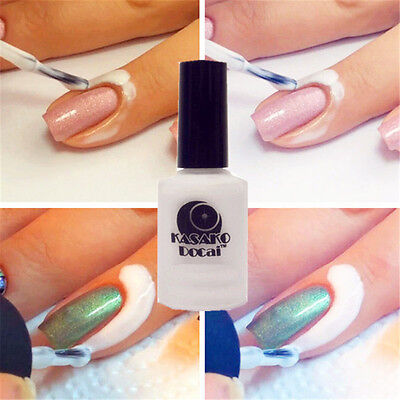 15ml Peel Off Coat Liquid Tape Cream Nail Polish Separating Removal Easy Washing