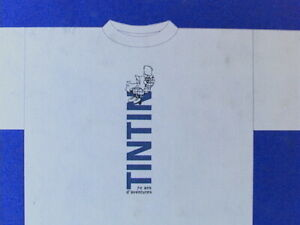 Tintin-T-Shirt-70-Years-of-Adventure-Original-Vintage-Collectible