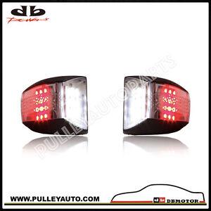 DBMOTOR 2007-2013 GMC Sierra LED License Lamp - Dual Function
