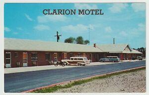 Undated-Unused-Postcard-Clarion-Motel-Route-322-East-Clarion-Pennsylvania-PA