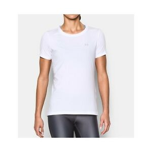 TSHIRT-UNDER-ARMOUR-1285637-HG-ARMOUR-SHORT-BIANCO