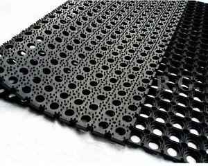 Gummimatte Ringgummimatte Schmutzfangmatte Ringmatte 22mm 5 Gr/ö/ßen Verbinder