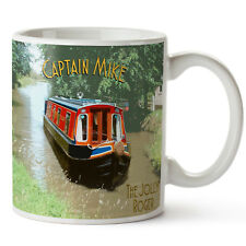 5f01e35813a item 5 Personalised Mug Canal Boat Dad Barge River Fathers Day Birthday Gift  KS63 -Personalised Mug Canal Boat Dad Barge River Fathers Day Birthday Gift  ...