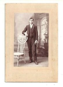 P-ANTOOFIAN-SMALL-CABINET-PHOTOGRAPH-NORWICH-CONNECTICUT-HANDSOME-YOUNG-MAN