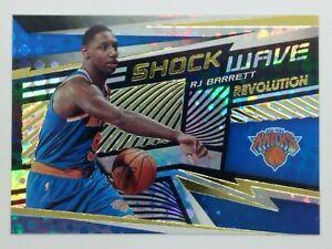 2019-20 Panini Revolution Shockwave RJ Barrett Rookie RC #23, New York Knicks