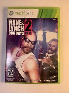 Kane & Lynch 2 Dog Days Xbox 360 COMPLETE & TESTED Edios 2010