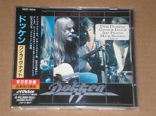 DOKKEN - ONE LIVE NIGHT - CD JAPAN COME NUOVO (MINT)