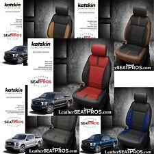 Leather Seat Covers 2021 22 Ford F 150 Supercrew Xlt Custom Katzkin Design
