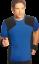 Indexbild 2 - Herren Funktionsshirt Laufshirt Joggingshirt Sportshirt Walkingshirt T-Shirt