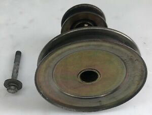 756-04196A 954-04196 Double Engine Pulley For MTD 756-04196 956-04196A