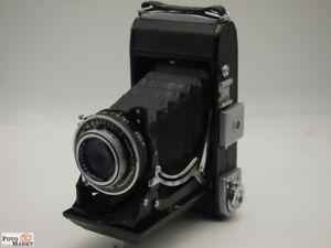 Zeiss-Ikon-Ercona-6x9-Klappkamera-Rollfilm-120-6x9-Obiettivo-Tessar-3-5-10-5cm