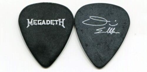 MEGADETH 1992 Countdown Tour Guitar Pick DAVE ELLEFSON  custom concert stage #3