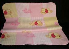"Cute Kids Plush Blanket 38""x28"" Baby Pink"