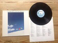 CHRIS REA ON THE BEACH 1986 MAGNET RECS VINYL LP+INNER N/MINT CHRIS REA CLASSIC