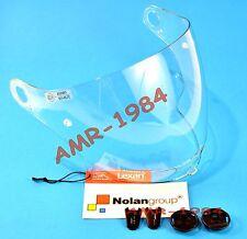 VISIERA ORIGINALE  NOLAN N43 CLEAR + SET VITI VISIERA N43E AIR  N43E 0170-0110